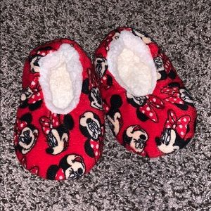 Minnie Mouse Slippers Baby Girls SZ.6